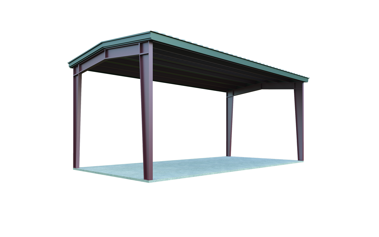 Karpot 18x20 Metal Carport Package: Quick Prices | General Steel Shop