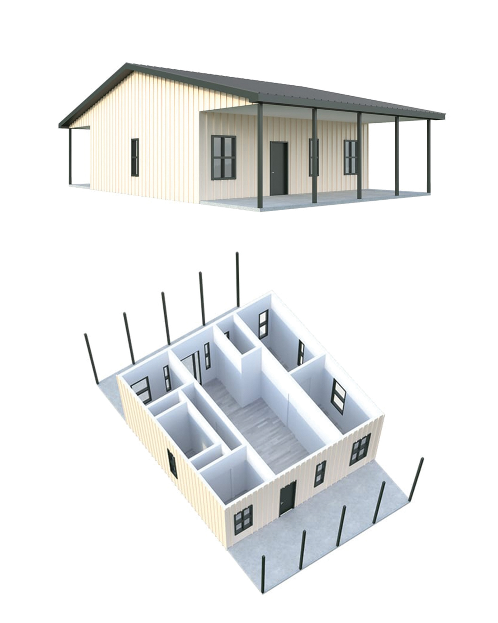 Tiny House With Garage Plans Building A Tiny Home Costs Floor Plans More General Steel