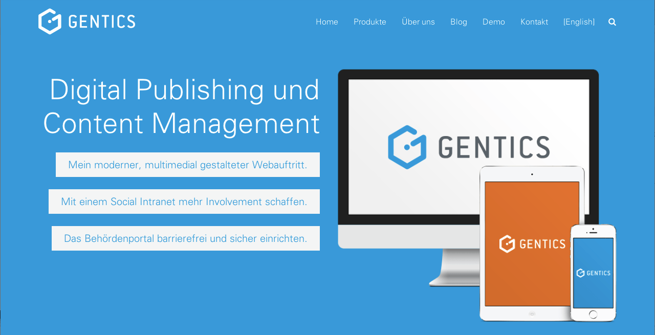 Einrichten English Every Three Years Relaunch Of The Corporate Website