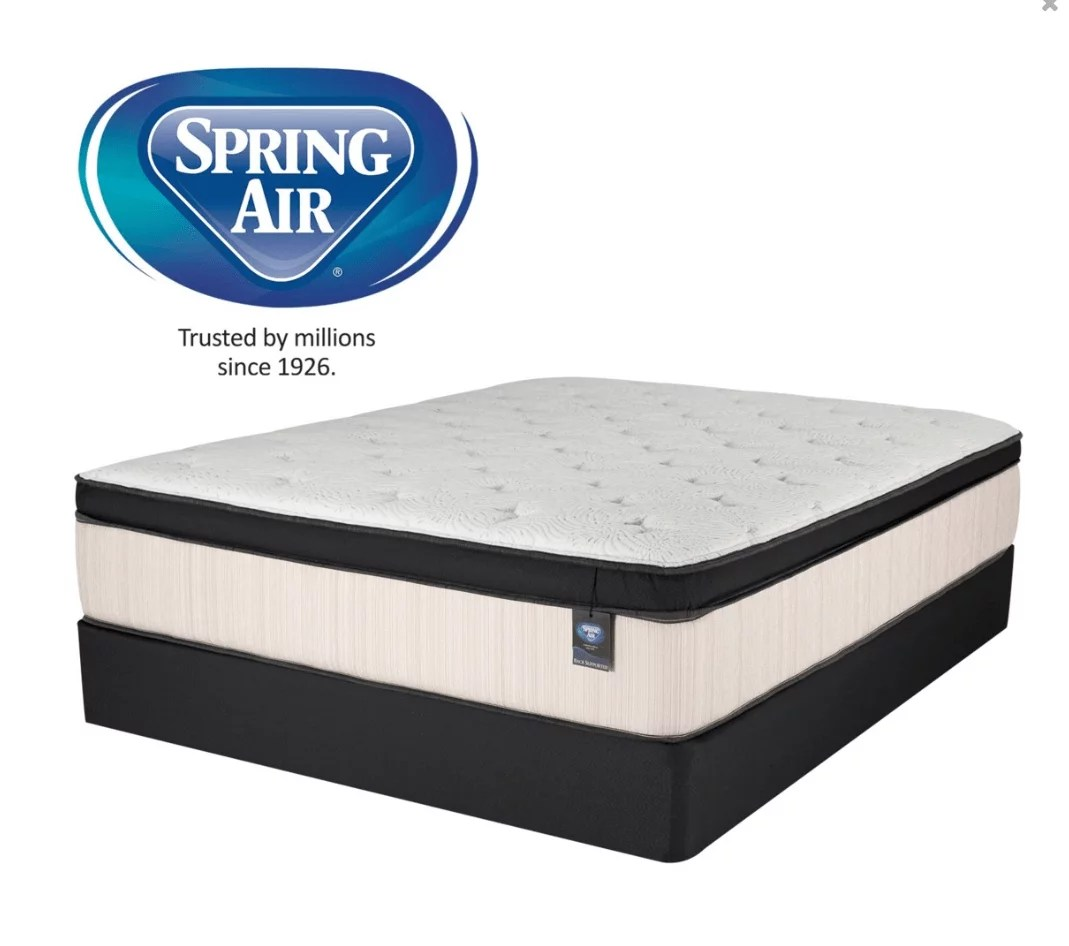 Air Mattress Frame Queen Laguna Eurotop Mattress By Spring Air King Queen Full Twin Sizes