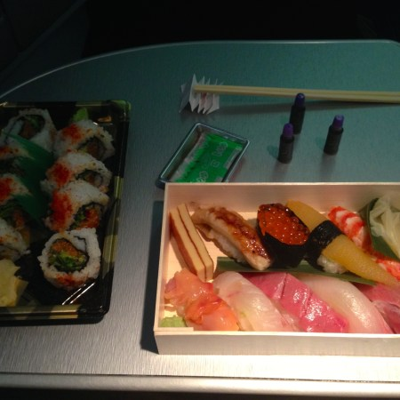 Sushi worth sprinting through the Tokyo airport for...