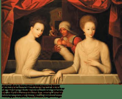 Anonyme, Mystérieuse connivence, XVIe siècle