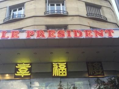 restaurant le president 3