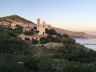 L'église de Cargese pour voir des Chants corses Polyphoniques