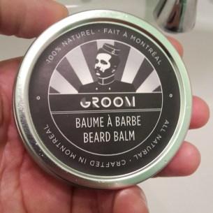 Les industries du Groom test baume a barbe blog beaute homme