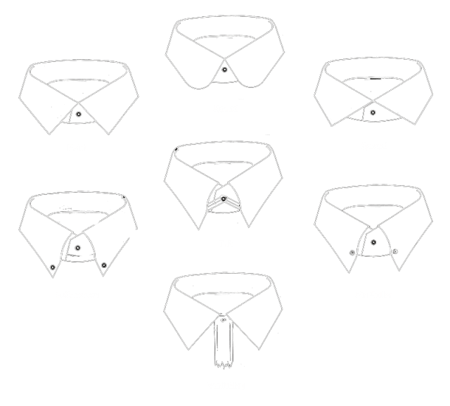 how to draw a collar