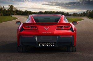 2014 Corvette Rear View