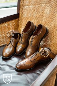 Allen Edmonds in Brown