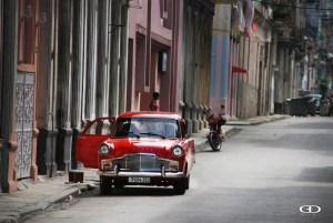 Parked in Street Cuba