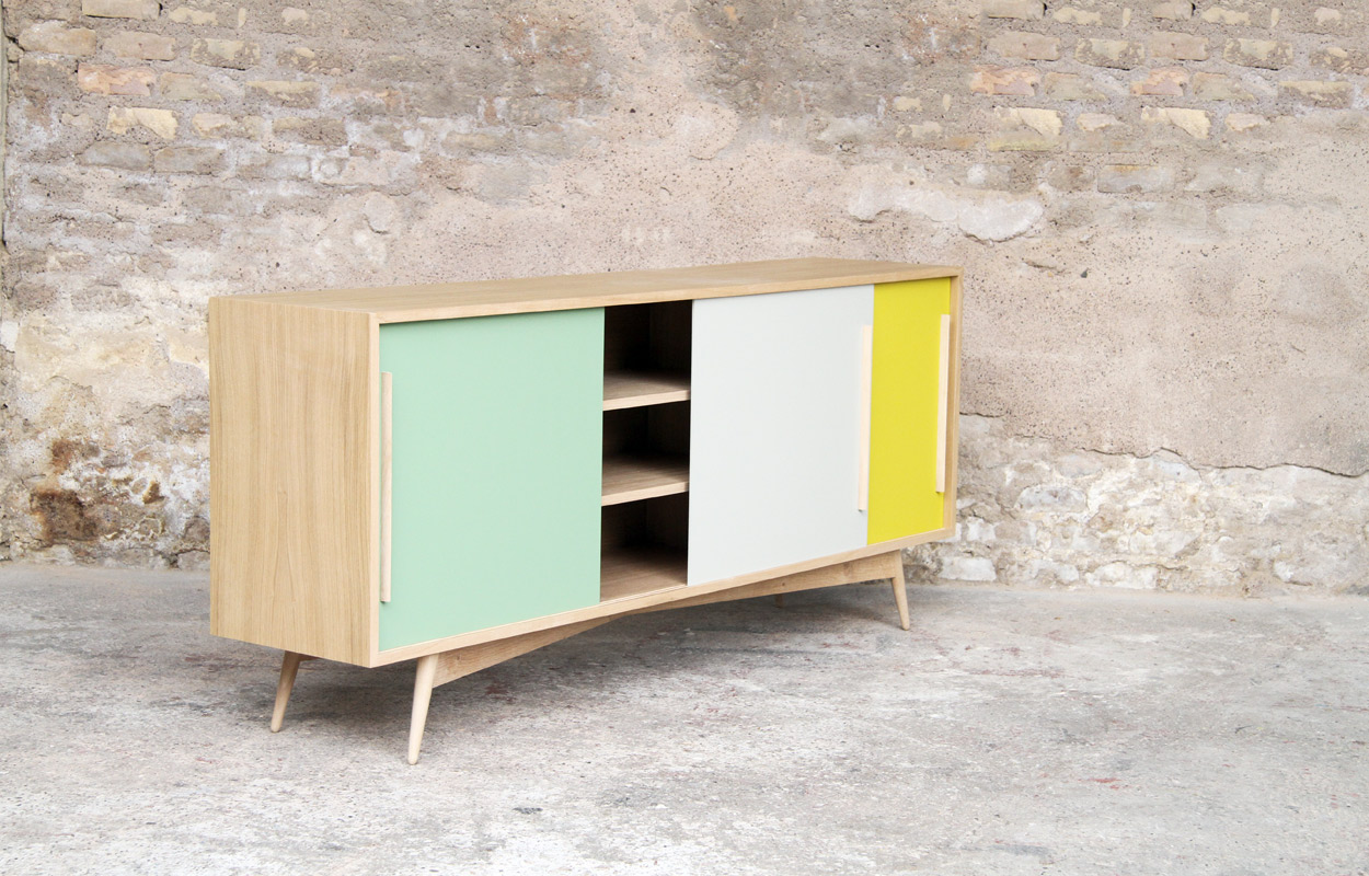 Fabriquer Meuble Scandinave Meuble Tv Bas Style Scandinave Sur Mesure Made In France