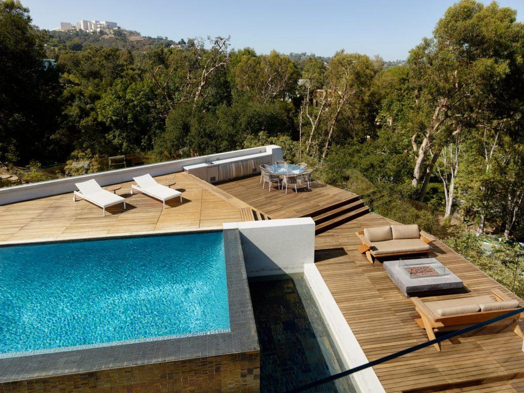 Design Villa In La Die Barrington Residence Von Eric