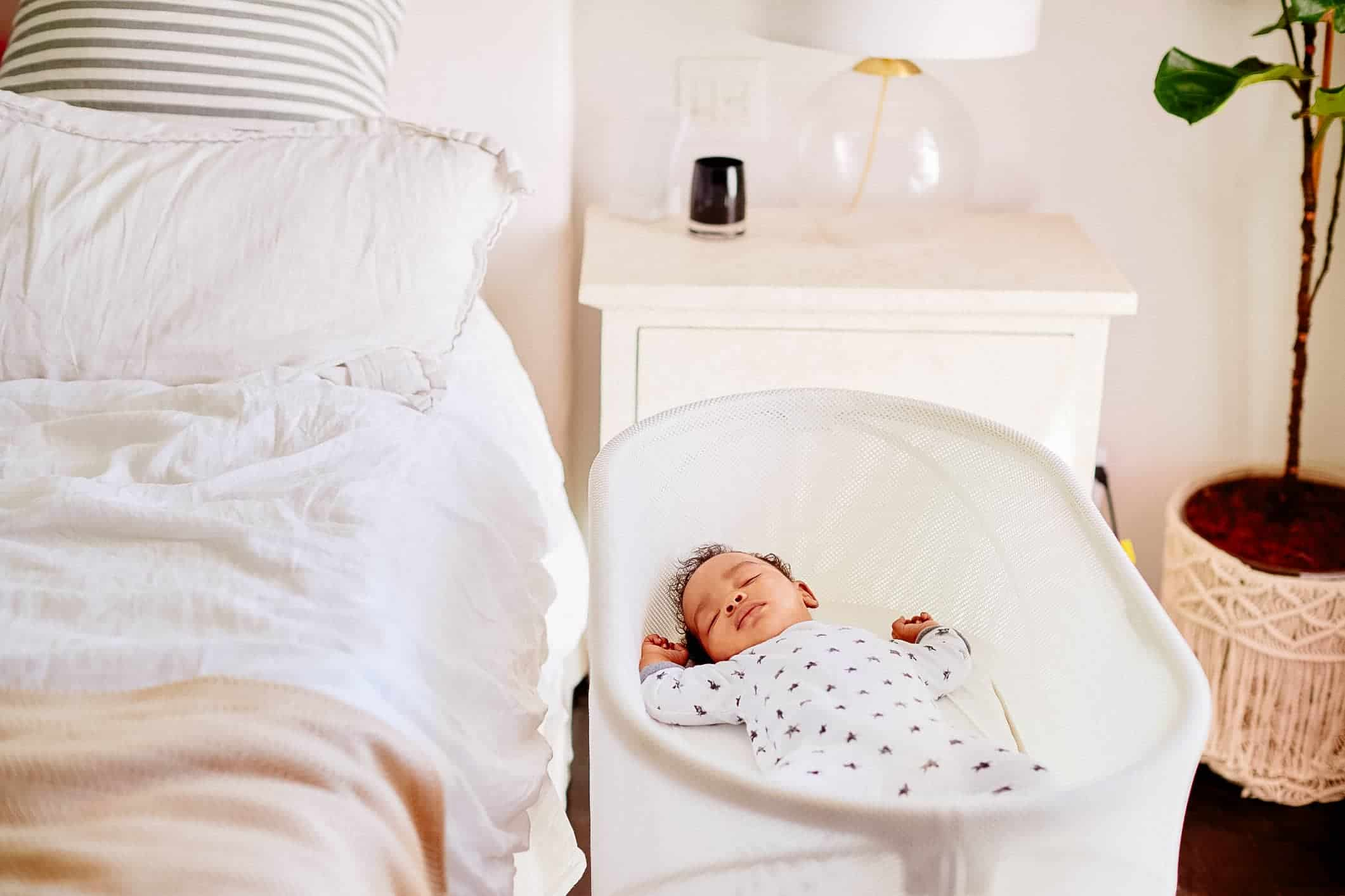 Newborn Bassinet Best Non Toxic Bassinets Choosing A Healthier Sleeping Space For