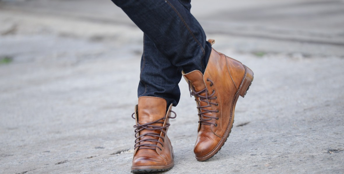 gents lounge Fall and winter boots