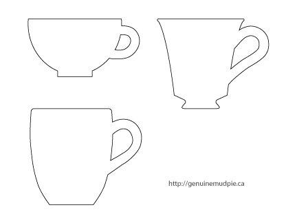 a quick cup of tea - genuine mudpie
