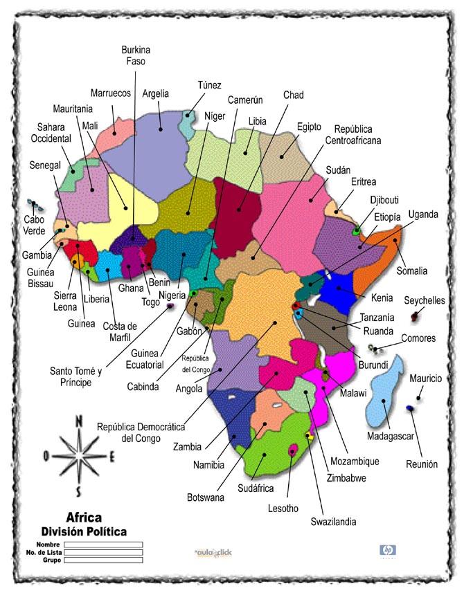 Día de África Cuaderno Intercultural