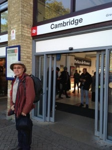 Geoff leaving Cambridge
