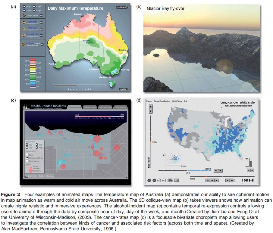 Cartographic Animation - animated maps