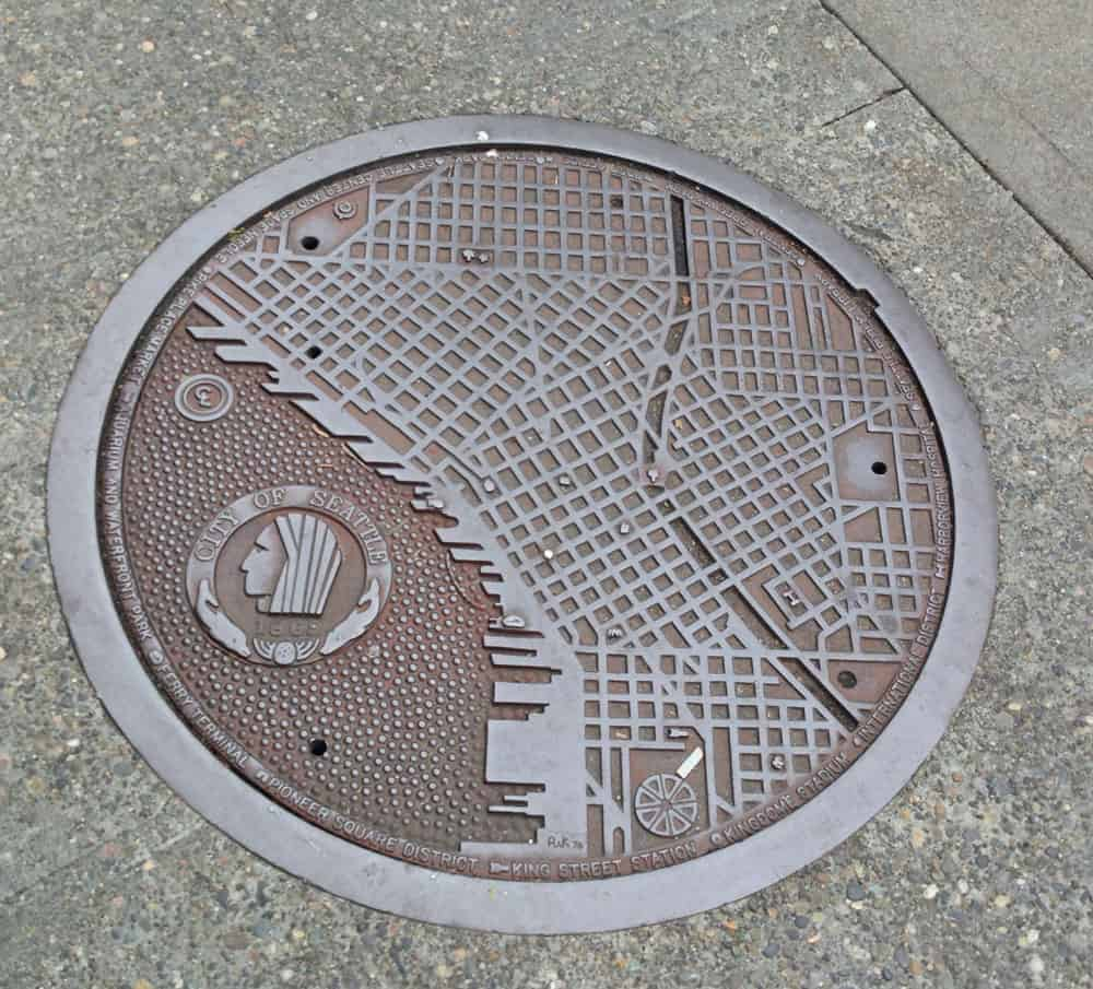 Maps Oldenburg Manhole Covers With Maps Geography Realm