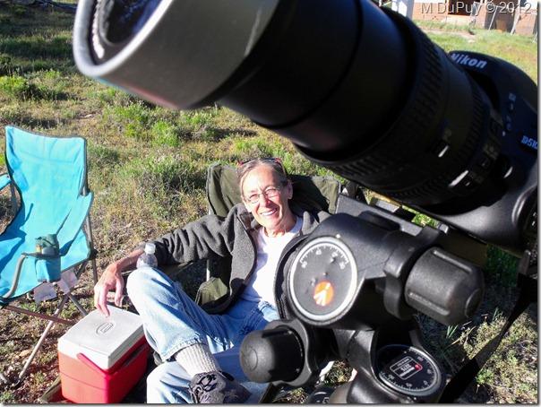 06e Gaelyn by camera set up for Venus Transit NR GRCA NP AZ by Mike (1024x768)