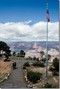 Canyon view from Verkamps South Rim Grand Canyon National Park Arizona