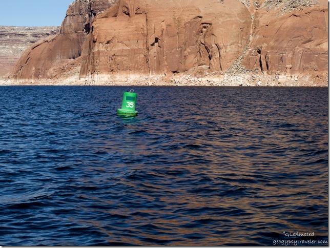 Buoy 35 Lake Powell Utah