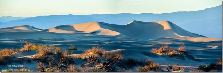 Light & shadow Mesquite Sand Dunes Death Valley National Park California