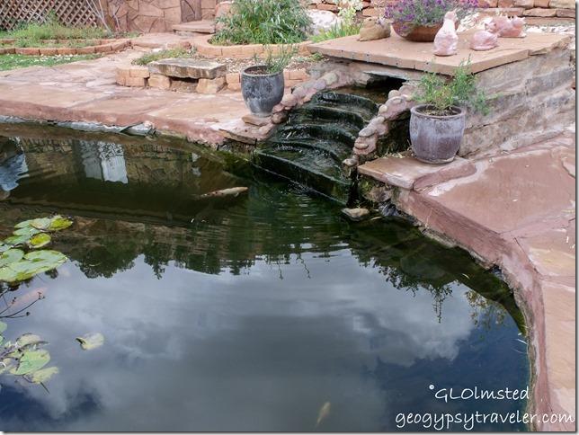 Pond at Best Friends Animal Sanctuary Kanab Utah