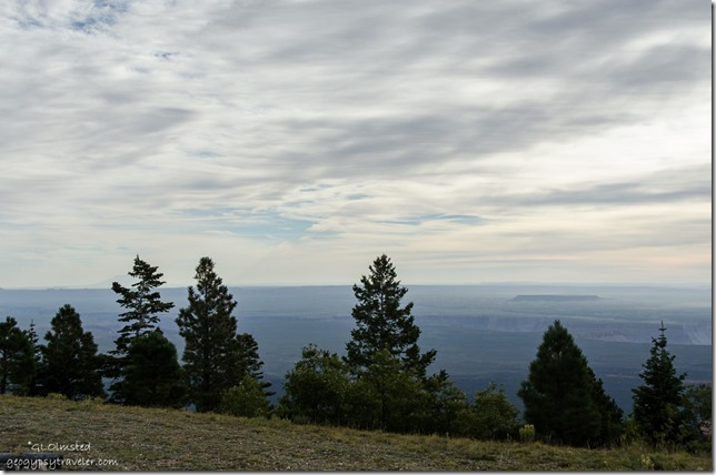 Clouds & hazy view Marble View Kaibab Kaibab National Forest Arizona