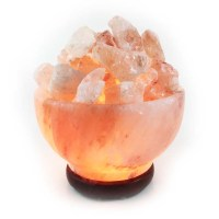 Himalayan Salt Crystal Lamp Bowl - Gifts from the Earth ...