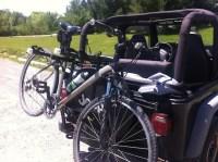 Allen Deluxe 3-Bike Spare Tire Mount Rack  The Overthinker