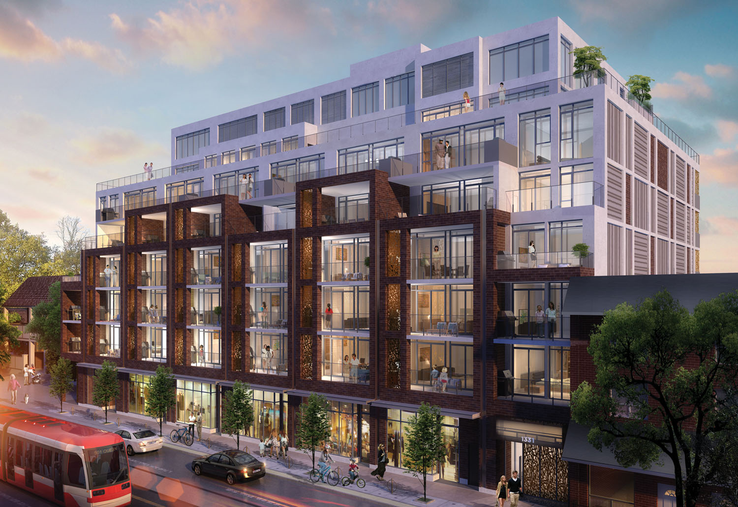 Il Ponte Queen East Leslieville George Condos Towns