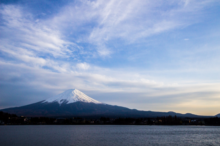 Fuji from Lake Kawaguchi