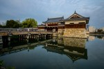 Reflections on Hiroshima Castle Moat