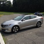 My trusty ride: 2012 Kia Optima hybrid