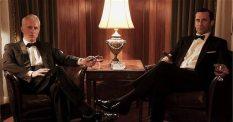 Roger Sterling (John Slattery) and Don Draper (Jon Hamm).
