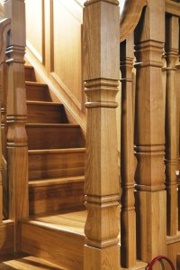 Concra Double Square Newel Post | GQ Stair Parts Plus
