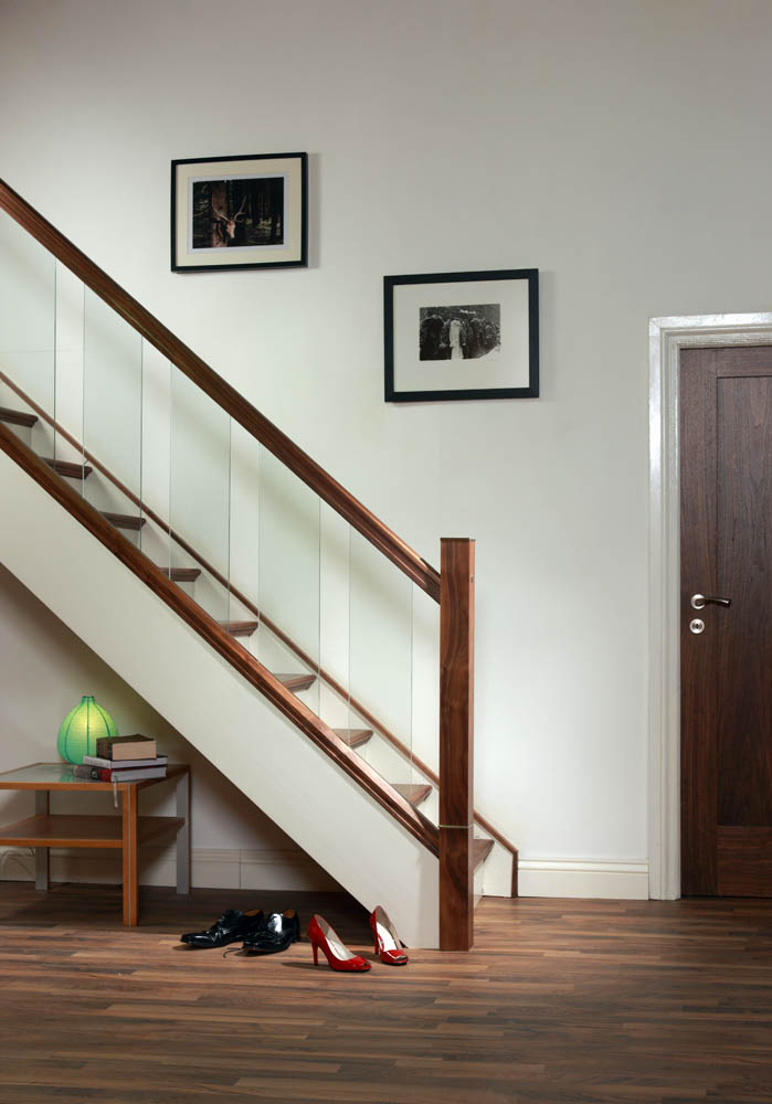 Trap Verven Handrail For Glass Panels | George Quinn Stair Parts Plus