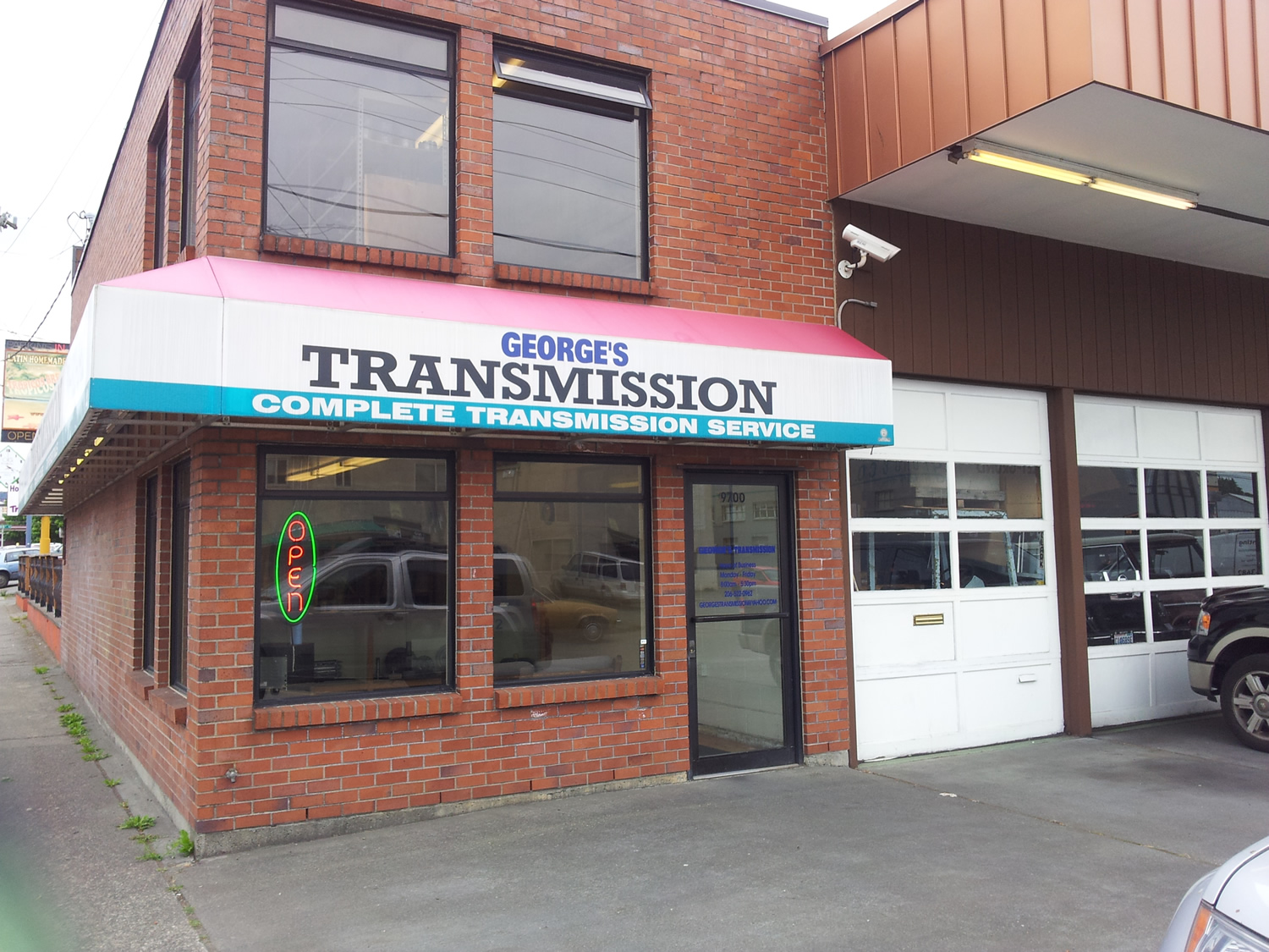 Repair Shop George S Transmission Repair Shop Guaranteed Transmission