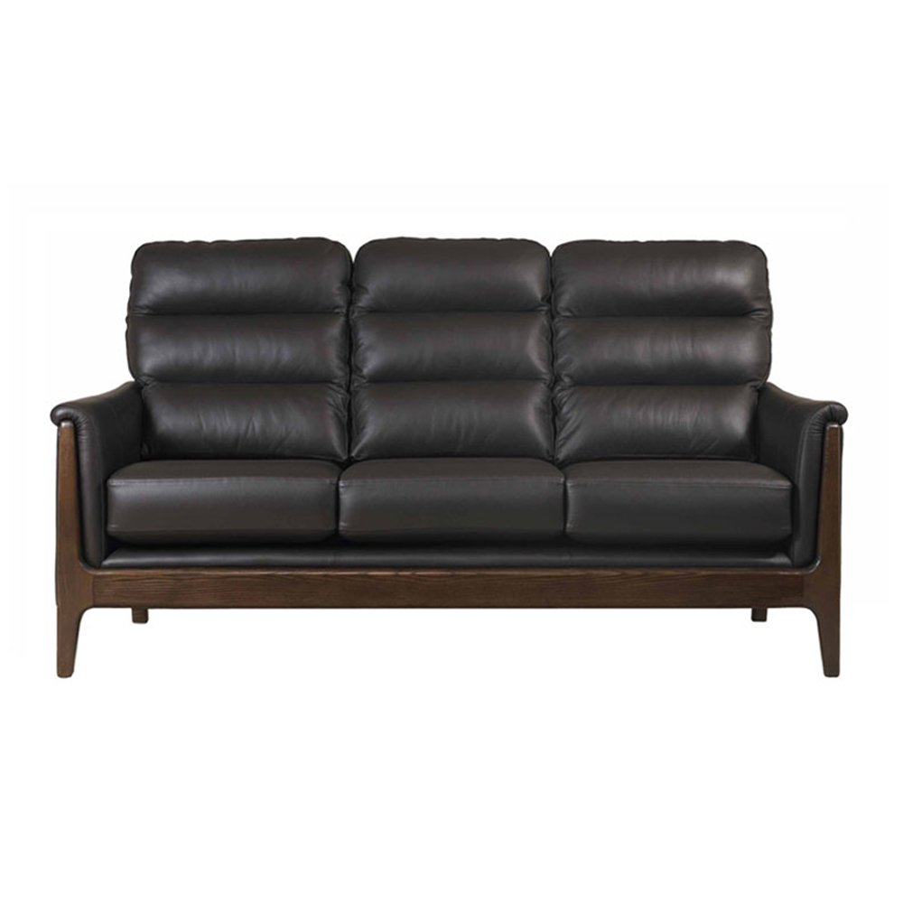 Cintique Lydia Leather 3 Seater Sofa - Lydia 2 Seater Sofa