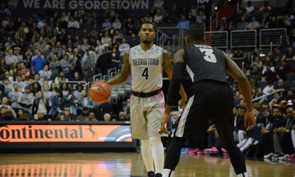 We Are Georgetown and You're Not: Hoyas look to boost résumé at  No. 20 Providence