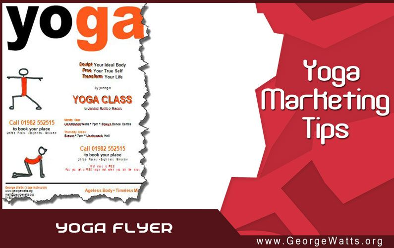 How To Design A Yoga Flyer - yoga flyer
