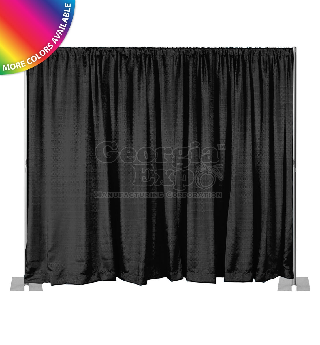 Draping Curtains Pipe And Drape Backdrop Kit 8ft Fixed Height