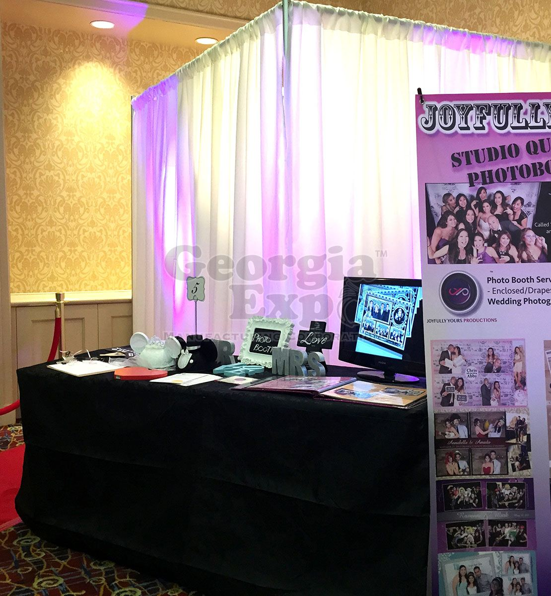 Decor Photobooth Pipe And Drape Photo Booth Kits Specialty Production And Av Equipment Georgia Expo