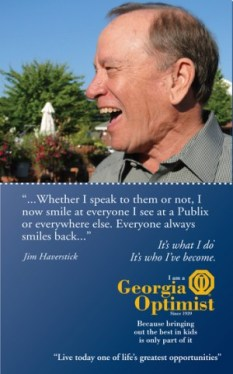 Jim Haverstick, Buckhead Optimist