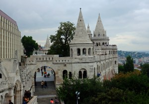 The fanciful towers of the Fisherman's Bastion.