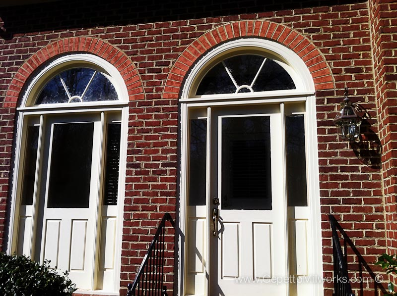 Historic Look for new home front doors