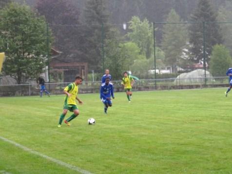 Les Gérômois ont ouvert le bal en concédant le nul face aux U19 de Thaon qui disputeront la finale du tournoi face à Blainville