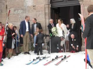 Jean-Michel & Déborah mariage neige (5)