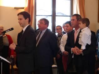Le sous-préfet de Saint-Dié Laurent Monbrun