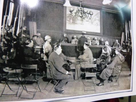 Le tribunal militaire à Gérardmer